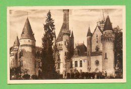 CPA FRANCE 87  ~  SAINT-BONNET-de-BELLAC  ~  107  Château De Bagnac  ( Théojac )  2 Scans - France