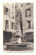 2 Cpa Forcalquier, Fontaine, Porte Des Cordeliers - Forcalquier