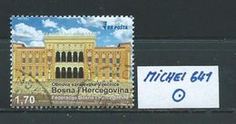 BOSNIEN HERZEGOWINA MICHEL 641 Gestempelt Siehe Scan - Bosnien-Herzegowina