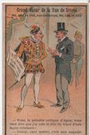 Chromo Publicitaire Humoristique/ Grand Bazar De La Rue De Sévres/Critique D'Opéra//Vers1880    IMA341 - Other