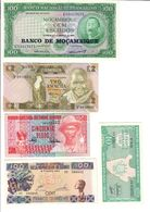 Africa Lot 5 UNC Banknotes - Other - Africa