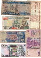 Africa Lot 6 Banknotes - Banknoten