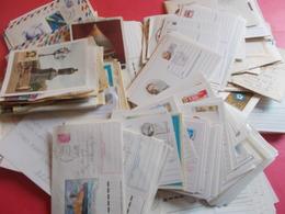 RUSSIE . Un Lot De Plusieurs Centaine De Carte Illustré Et D'enveloppes Neufs Ou Obliteres - Stamps
