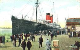 MERSEYSIDE - LIVERPOOL -  RMS UMBRIA - 1905 Me577 - Liverpool