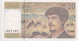 20 FRS DEBUSSY F 036 1992 NEUF - 1962-1997 ''Francs''