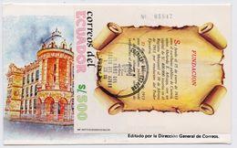 Ecuador 1989, FDC With S/s Fundacion, Mibl 132 - Ecuador
