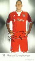 Football -- FC Bayern  -  Bastian Schweinsteiger.     (2 Scans) - Soccer