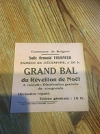 BOIGNEE PETITE PUB GD BAL RÉVEILLON NOËL - Programs