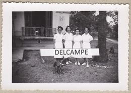 INDOCHINE PARACHUTISTE De L'Armée Française HANOÏ 1950 - Photo D'un Groupe De Femmes Auxiliaires De Santé - War, Military