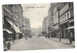 Old Postcard France, Le Havre - Rue De Paris, Street, Automobile, A. Nemitz, Le Havre - Other