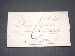FRANCE - Lettre Pour Châtillon En 1832 - L 13369 - Postmark Collection (Covers)
