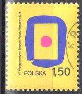 Poland 1978 - Poster Biennale - Mi 2559 - Used - 1944-.... Republic