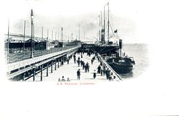MERSEYSIDE - LIVERPOOL -  SS PARISIAN 1906 Me580 - Liverpool