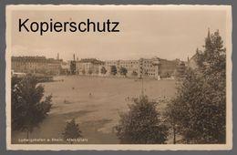 ALTE POSTKARTE LUDWIGSHAFEN A. RHEIN. MARKTPLATZ Postcard Ansichtskarte Cpa AK - Ludwigshafen