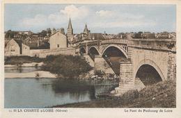 LA CHARITE SUR LOIRE Le Pont Du Faubourg De Loire CPA - La Charité Sur Loire