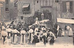 HONFLEUR - Un Reposoir à L'Eglise Sainte-Catherine - Honfleur