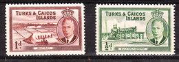 Turks & Caicos  -  1950.  Salina E Raffinazione Del Sale. Salt And Salt Refining. - Fabbriche E Imprese