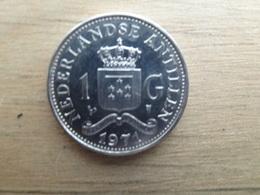Antilles  Neerlandaises  1  Gulden  1971   Km 12 - Antilles Neérlandaises