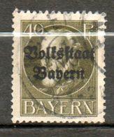 BAVIERE  Louis III 1919 N° 125 - Bayern