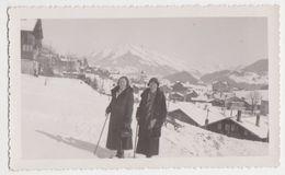 26416 Photo Montana Suisse 1931 -femmes Hivers - Lieux