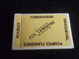 Jeu De 32 Cartes à Jouer - ROUBAIX WASQUEHAL - POMPES FUNEBRES - 32 Cards