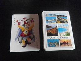 Jeu De 54 Cartes à Jouer - COSTA BRAVA Tourisme - 32 Cartes