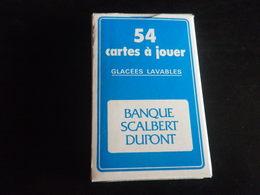 Jeu De 54 Cartes à Jouer - Banque SCALBERT DUPONT - 32 Cartes