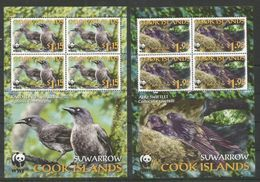 COOK ISLANDS - MNH - Animals - Birds - WWF - Autres