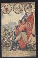 CZECH & AMERICAN SOKOL SLET PRAHA OLD POSTCARD #15 - Ansichtskarten
