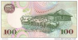 LESOTHO P. 19d 100 M 2007 UNC - Lesotho