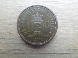 Antilles  Neerlandaises  1  Gulden  2014   Km !!! - Netherland Antilles