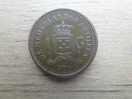 Antilles  Neerlandaises  1  Gulden  2014   Km !!! - Antillas Nerlandesas