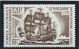 TAAF 1974 - YT PA N° 30 - 120 F. -  Bâteaux D'expéditions...  -  Le Mascarin - NEUF** TTB Etat - Airmail