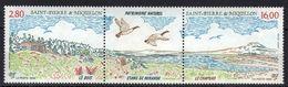St-Pierre-et-Miquelon N° 604A ** Tryptique - Ungebraucht