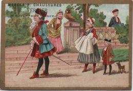 Chromo  Ancien/Mercerie Chaussures/A La Porte Du Parc/L Verrier/Grande Rue / NOGENT Sur MARNE/Vers1880-90    IMA347 - Other