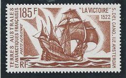 """TAAF 1974 - YT PA N° 33 - 185 F. -  Bâteaux D'expéditions Antartiques  -  """" La Victoire"""" - NEUF** TTB Etat - Airmail"""