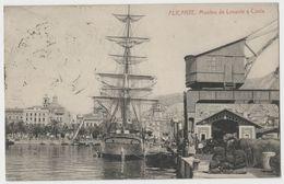 CPA ALICANTE - Muelles De Levante Y Costa - - Alicante