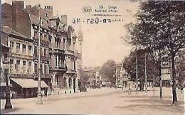 LIEGE : 39 - Le Boulevard D'Avroy - Liege