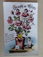 BEBES   GRAINES  DE  ROSES - Groupes D'enfants & Familles