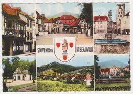 26420 Souvenir De Ribeauville 78 -751 CAP -blason Colorisée - Ribeauvillé