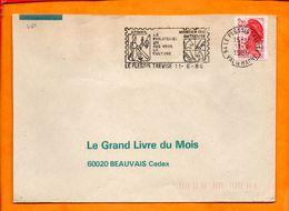 VAL DE MARNE, Le Plessis Trevise, Flamme SCOTEM N° 7161 - Marcophilie (Lettres)