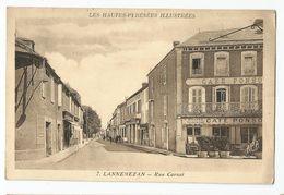 65 - Lannemezan Rue Carnot Café - Lannemezan