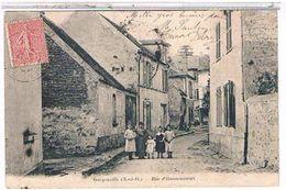 78 GARGENVILLE   RUE  D' HANNEUCOURT    + ENFANTS  BE    1U428 - Gargenville