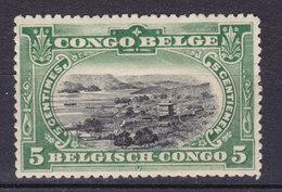 Belgium Congo 1910 Mi. 15    5 C. Hafen Von Matadi MH* - Belgian Congo