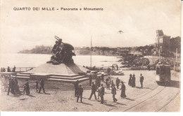ITALIA - QUARTO DEI MILLE - Monumento, Ben Animata Con Tram, Anni 10 - MAG. 2016 - 351 - Altre Città