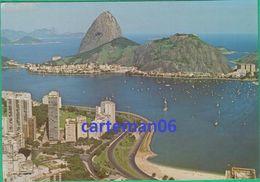 Brésil - Rio De Janeiro - Vista Aérea - Morro Da Viuva A Pao De Açucar - Rio De Janeiro