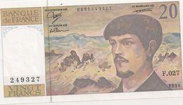 20 FRS DEBUSSY NEUF F 027 1990 - 1962-1997 ''Francs''