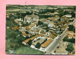 65 - HAUTES PYRENEES - MADIRAN  Prés  TARBES - VUE GENERALE AERIENNE - France