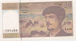 20 FRS DEBUSSY NEUF  T 048 1995 - 1962-1997 ''Francs''