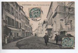 NANTERRE (92) - RUE DU CHEMIN DE FER - Nanterre